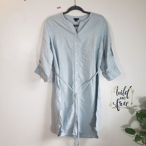 Ann Taylor Shirt dress